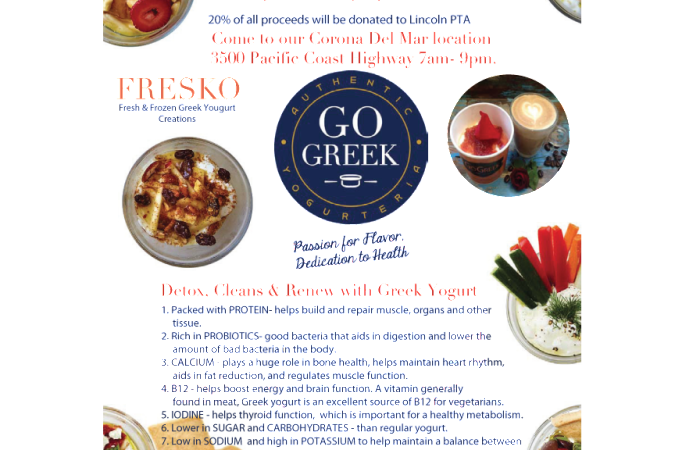 April 22/23 – Go Greek – Dine Out Day comes to Lincoln!!!