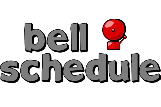New Revised Bell Schedule Released