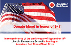 Lincoln Blood Drive – September 11, 2020