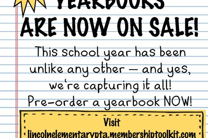 Buy a Lincoln Yearbook!